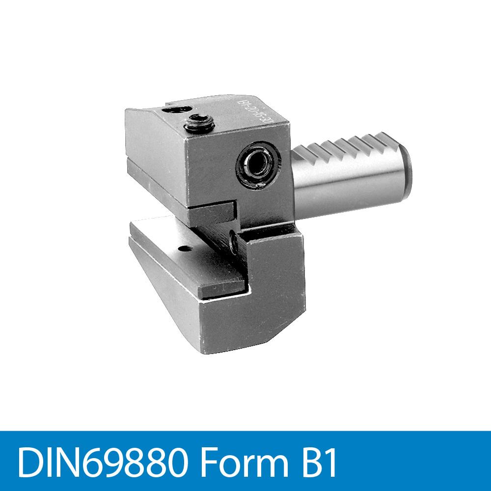 Radial-Werkzeughalter rechts, kurz B1 - VDI20 x 16