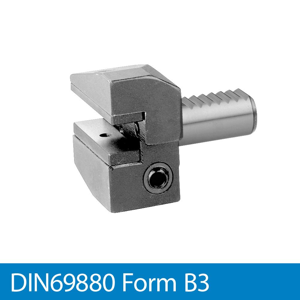 Radial-Werkzeughalter rechts, überkopf, kurz B3 - VDI20 x 16